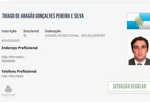 Patrimônio do advogado Thiago Aragão cresceu 9.388% em seis anos Foto: Reprodução