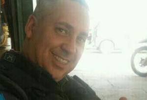 Sargento Leandro Marins, do 22º BPM (Maré), está desaparecido desde terça-feira Foto: Reprodução / WhatsApp