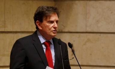 O prefeito do Rio, Marcelo Crivella Foto: Pablo Jacob