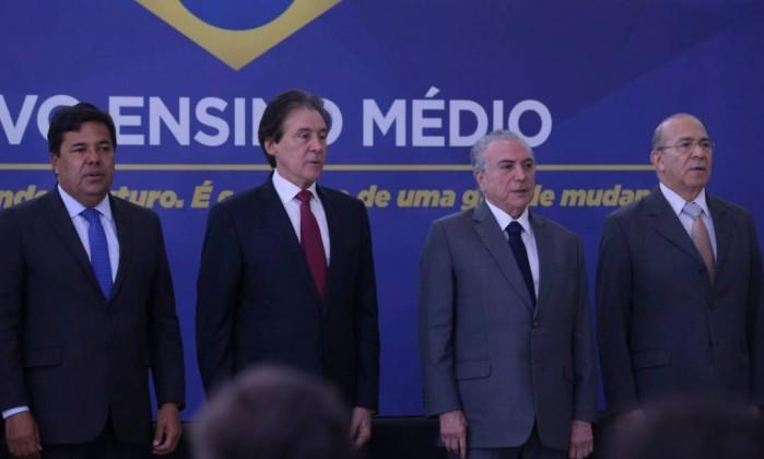 Marcelo Miranda defende novo modelo de ensino médio instituído nesta quinta-feira