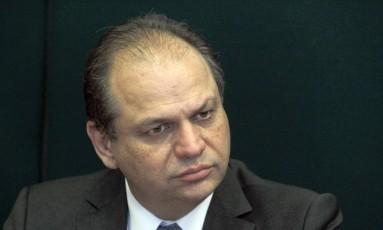 Deputado Ricardo Barros (PP-PR) Foto: Givaldo Barbosa / Agência O Globo