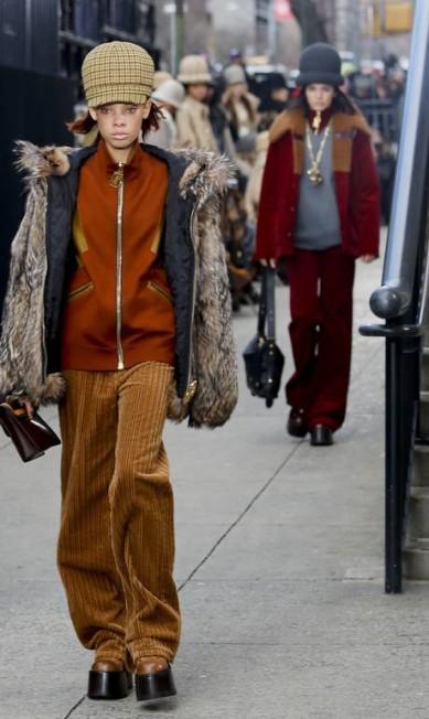 Marc Jacobs outono-inverno 2017 Bebeto Matthews / AP