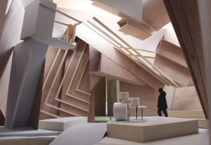 """""""Studio Venezia"""": Projeto de Veilhan para a 57ª Bienal, que vai de maio a novembro Foto: Divulgação / Agência O Globo"""