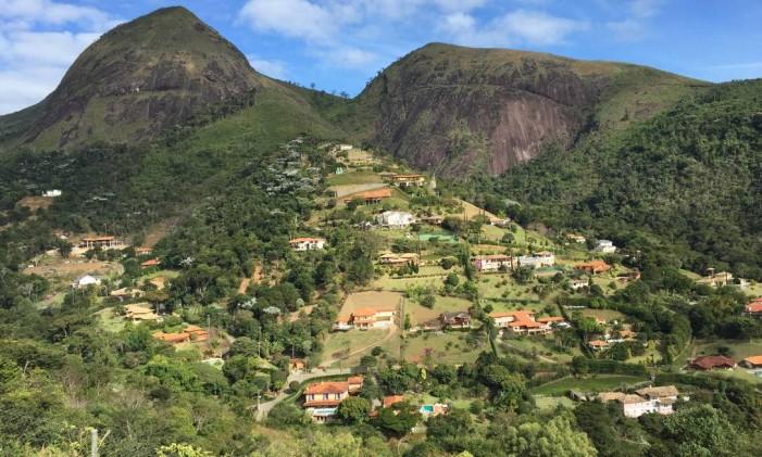 Vista do alto do condomínio em Itaipava onde mora o ex-diretor da Petrobras Paulo Roberto Costa Foto: Marco Grillo/01-07-2015