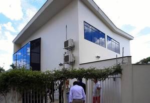 Imóvel onde funciona o Instituto Lula hoje, no bairro do Ipiranga, em São Paulo Foto: Edilson Dantas/Agência O Globo/17-02-2016