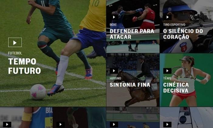 Segredos Olímpicos: 28 esportes como você nunca viu Foto: Reprodução