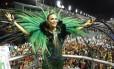 Ivete Sangalo, homenageada pela Grande Rio Foto: Fabio Guimarães / Agência O Globo