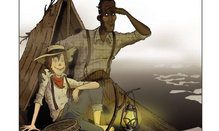 Capa de As Aventuras de Huckberry Finn Foto: Reprodução