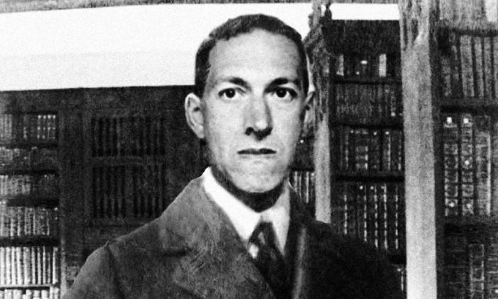 O escritor americano H.P.Lovecraft Foto: Reprodução