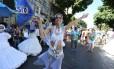 Cynthia howlett é a porta-bandeira do Suvaco do Cristo Foto: Marcia Foletto / Marcia Foletto