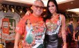 Mayara ao lado de Jayder Soares, presidente da Grande Rio Foto: Reprodução