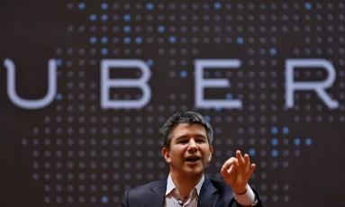 O diretor executivo do Uber, Travis Kalanick, ordenou abertura de investigação sobre caso de assédio Foto: DANISH SIDDIQUI / REUTERS