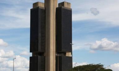 Sede do Banco Central em Brasília. Foto Michel Filho/Agência O Globo Foto: Michel Filho / Agência O Globo