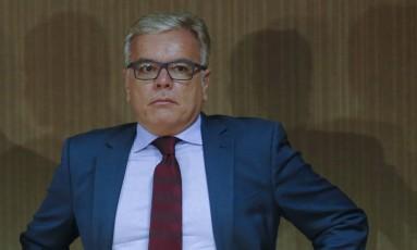 Secretário de Segurança, André Garcia, está recebendo ameaças de morte Foto: Pablo Jacob / Agência O Globo