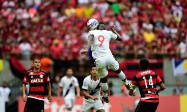 Vasco x Flamengo, válida pelas semifinais do Campeonato Carioca na Arena da Amazônia. Foto: Bruno Zanardo / Fotoarena / Ag. O Globo Foto: Bruno Zanardo / Fotoarena / Ag. O Globo / Agência O Globo