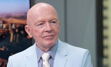 Mark Mobius, presidente executivo do Templeton Emerging Markets Group Foto: Bloomberg/Razan Alzayani
