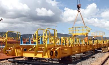 Projeto Ferro Carajás S11D, da Vale, em Canaã dos Carajás/25-6/2015 Foto: Divulgação