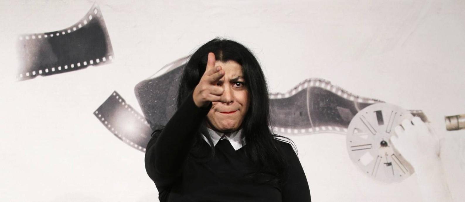Diretora Marjane Satrapi no Festival de Roma Foto: Max Rossi / Reuters