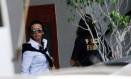 Adriana Ancelmo chega à sede da Polícia Federal, no Rio de Janeiro, para prestar depoimento Foto: Ricardo Moraes/Reuters/17-11-2016