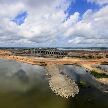 Usina Hidrelétrica de Belo Monte Foto: Agência O Globo