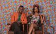 """Nego do Borel e Anitta, na gravação do clipe de """"Você partiu meu coração"""" Foto: Divulgação"""
