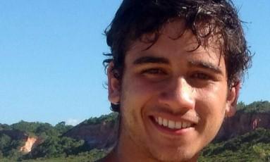 Matheus Amorim, desaparecido desde o dia 10 Foto: Reprodução Facebook