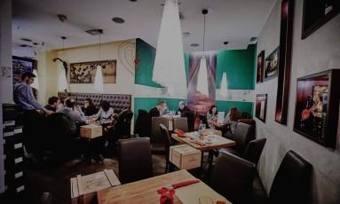 Restaurante Antonio Ferrari deu desconto por bom comportamento das crianças Foto: Reprodução