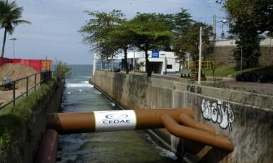 Estação da Cedae, no Leblon Foto: Luciana Paschoal - 18/08/2009 / Agência O Globo
