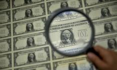 Nota de dólar. Foto: Andrew Harrer/Bloomberg Foto: Andrew Harrer / Bloomberg
