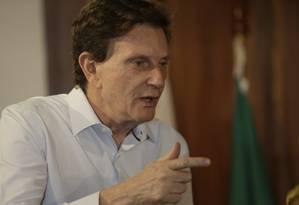 O prefeito do Rio, Marcelo Crivella Foto: Gabriel de Paiva / Agência O Globo
