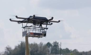 Empresa testa entrega de produtos com drones nos Estados Unidos Foto: Divulgação/UPS