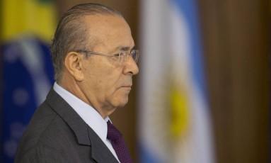 Ministro Eliseu Padilha (Casa Civil) Foto: Jorge William / Agência O Globo