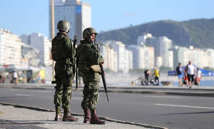 Resultado de imagem para forças armadas no rio