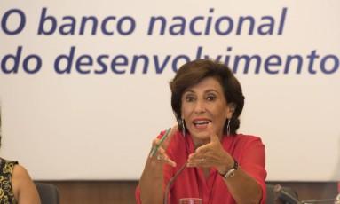 Maria Silvia Bastos, presidente do Banco Nacional de Desenvolvimento Economico e Social (BNDES) Foto: Luciana Whitaker / Agência O Globo