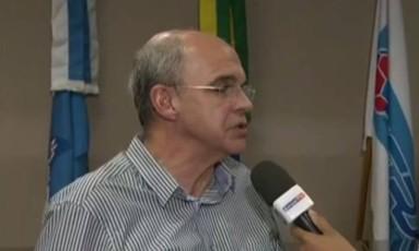 O presidente do Flamengo Eduardo Bandeira de Mello Foto: Reprodução/SPORTV