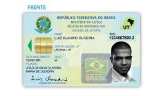 CI EXCLUSIVA Rio de Janeiro (RJ) 23/12/2008 Modelo da nova carteira de identidade nacional Foto Divulgação / Polícia Federal Foto: Divulgação