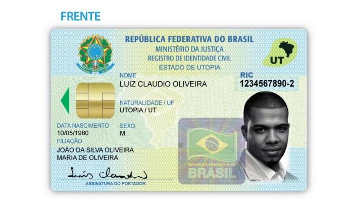 Resultado de imagem para único documento nacional brasil