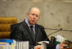 O ministro Celso de Mello, do Supremo Tribunal Federal Foto: Jorge William / Agência O Globo
