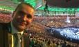 Presidente da Islândia, Gudni Jóhannesson vai ao Maracanã durante cerimônia de abertura das Paralimpíadas Rio 2016 Foto: Divulgação