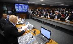 Alexandre de Moraes é sabatinado pela Comissão de Constituição e Justiça do Senado Foto: Marcos Oliveira / Agência Senado