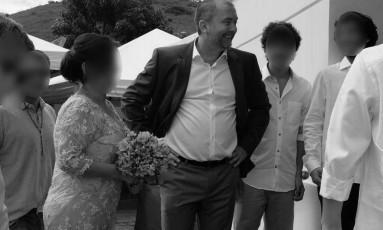 Carlos Emanuel de Carvalho Miranda, o Carlinhos,ex-marido de uma prima de Cabral Foto: Divulgação