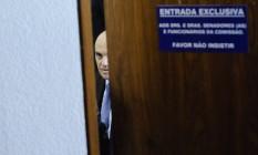 Alexandre de Moraes é sabatinado na Comissão de Constituição e Justiça do Senado Foto: Pedro Françaa / Agência Senado