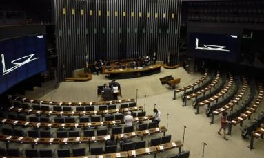 Plenário da Câmara dos Deputados Foto: Mateus Bonomi / Agência O Globo