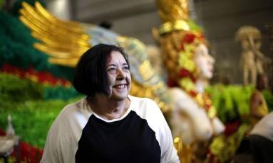 Rosa Magalhães assina o carnaval da escola pelo terceiro ano Foto: Fabio Rossi / Agência O Globo