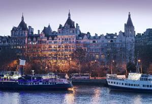 O cinco-estrelas Royal Horseguards Hotels, em Londres, foi um dos reprovados pela vigilância sanitária britânica Foto: Guoman Hotels / Divulgação