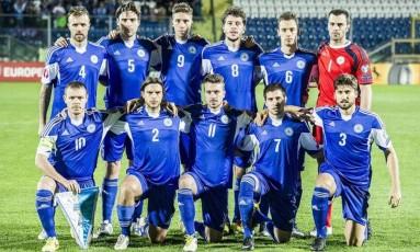A seleção de San Marino amargou mais uma derrota e não vence a 75 partidas Foto: Divulgação
