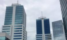 """Conjunto de prédios comerciais onde funcionava escritório de Vinicius Claret, conhecido por """"Juca Bala"""", apontado como um dos operadores do esquema de Sérgio Cabral Foto: Chico Otávio"""