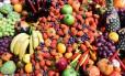 Pesquisador recomenda a ingestão de diferentes tipos de frutas e vegetais