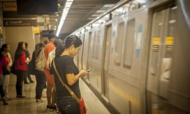 Tarifa do metrô vai aumentar a partir do dia 2 de abril Foto: Analice Paron - 05/11/2016 / Agência O Globo