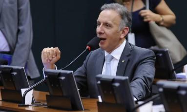 O deputado Aguinaldo Ribeiro (PP-PB), em comissão da Câmara Foto: Lucio Bernardo Junior/Câmara dos Deputados/10-05-2016